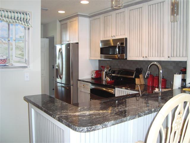 Newly Renovated Kitchen with Granite Countertops - Ocean Place Unit #97 Sol Mate - Fernandina Beach - rentals