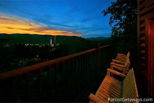 View from Hall Of Fame Lodge - HALL OF FAME LODGE - Pigeon Forge - rentals