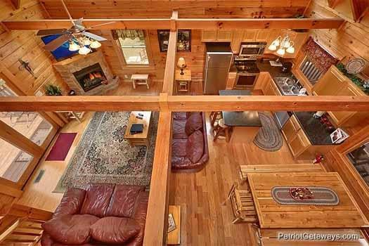 Living Room at Alpine Tranquility - ALPINE TRANQUILITY - Pigeon Forge - rentals