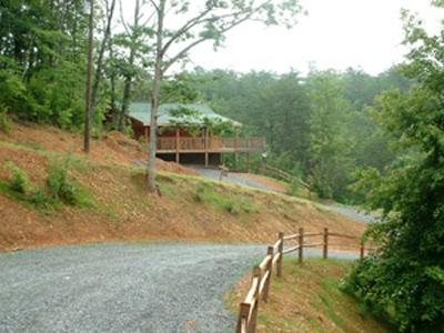Driveway to Honey For The Bears - HONEY FOR THE BEARS - Pigeon Forge - rentals