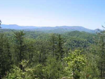 View from Close To Heaven - CLOSE TO HEAVEN - Pigeon Forge - rentals
