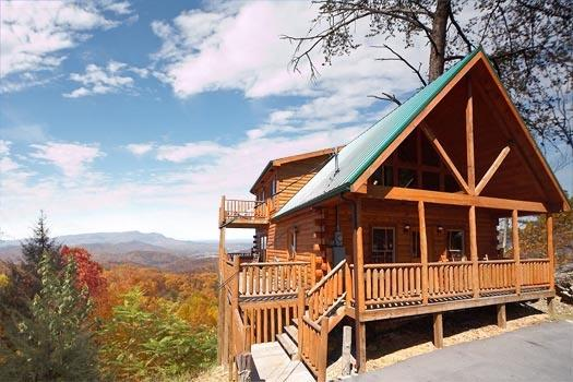 Front Exterior View at The View - THE VIEW - Gatlinburg - rentals