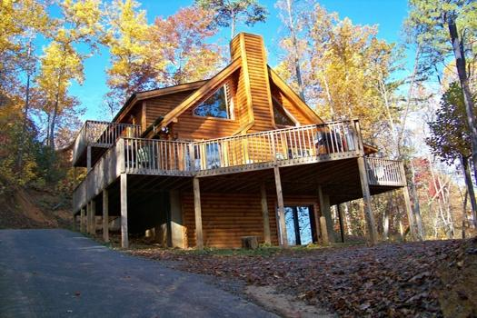 Front Exterior View at Sierra's Mountain Retreat - SIERRA'S MOUNTAIN RETREAT - Pigeon Forge - rentals