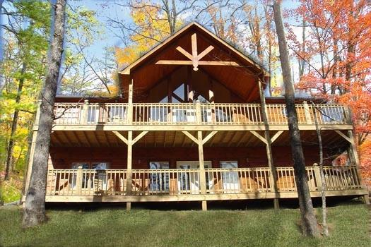 Exterior View of Wildlife Retreat - WILDLIFE RETREAT - Pigeon Forge - rentals
