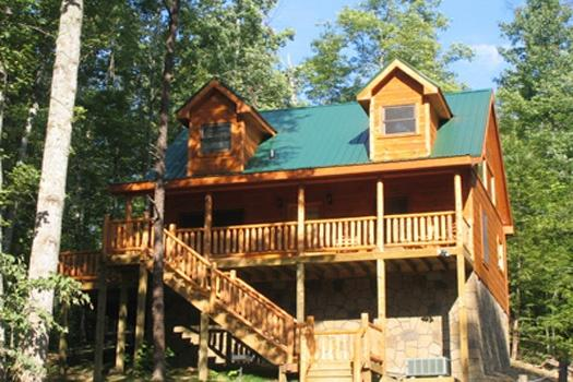 Exterior Front View at True Love - TRUE LOVE - Gatlinburg - rentals
