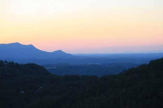 View from Away From It All - AWAY FROM IT ALL - Pigeon Forge - rentals