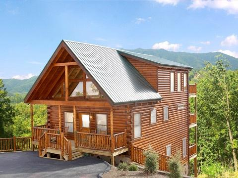 Exterior Front Entrance at Natural Wonder - NATURAL WONDER - Gatlinburg - rentals