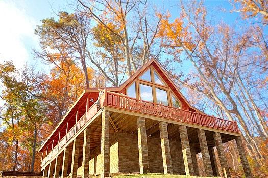 Exterior Rear View at Mountain Wonderland - MOUNTAIN WONDERLAND - Pigeon Forge - rentals
