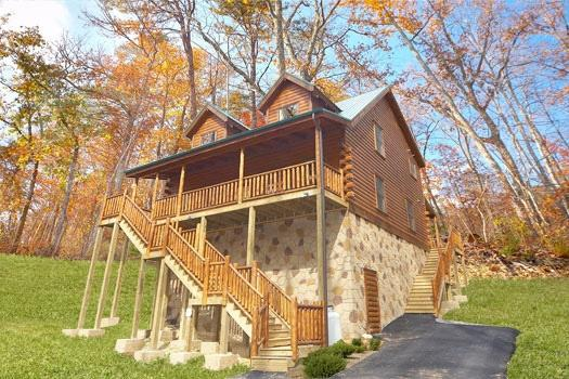 Big Bear Falls - BIG BEAR FALLS - Gatlinburg - rentals