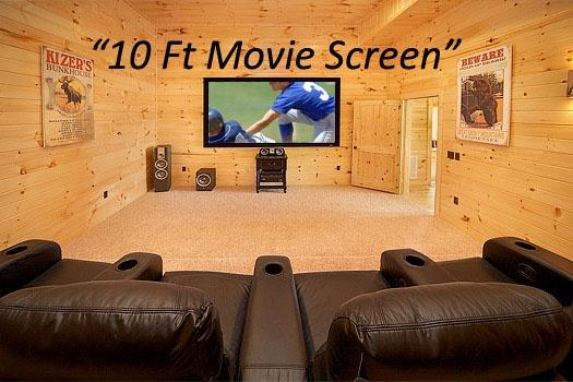 Home Theater Room at Don't Blink! - DON'T BLINK! - Pigeon Forge - rentals