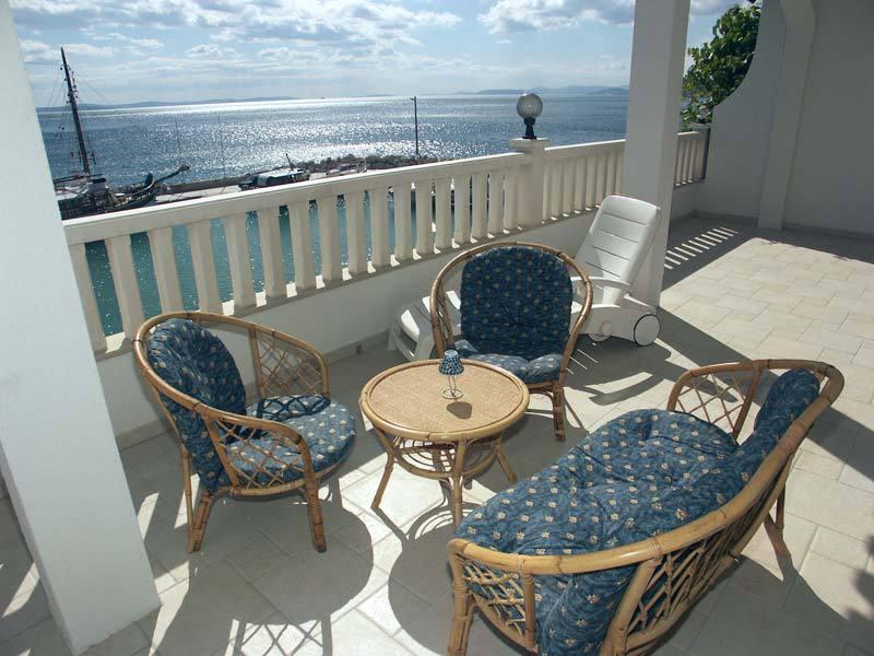 SA1(2+1): terrace - 5546 SA1(2+1) - Sumpetar - Sumpetar - rentals
