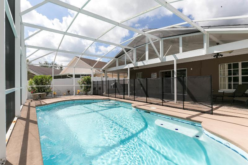 The Pool - 3 Bdrm beautiful,  private pool,15 min.from Disney - Four Corners - rentals