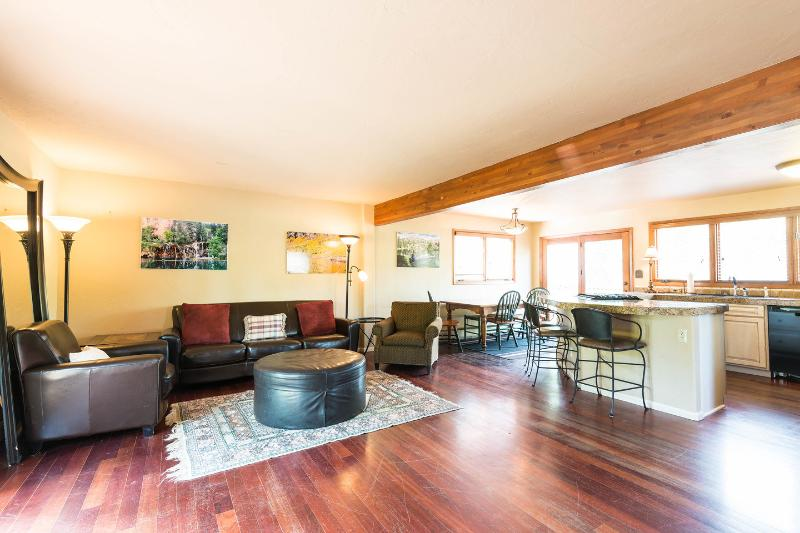 Living Room - Private Breckenrdge house, great mountain views - Breckenridge - rentals