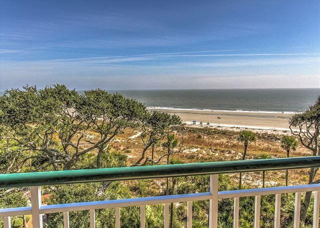 King Suite View - 3507 Windsor Court South-Oceanfront 5th Floor 3 Bedroom Penthouse.  Wow views - Hilton Head - rentals