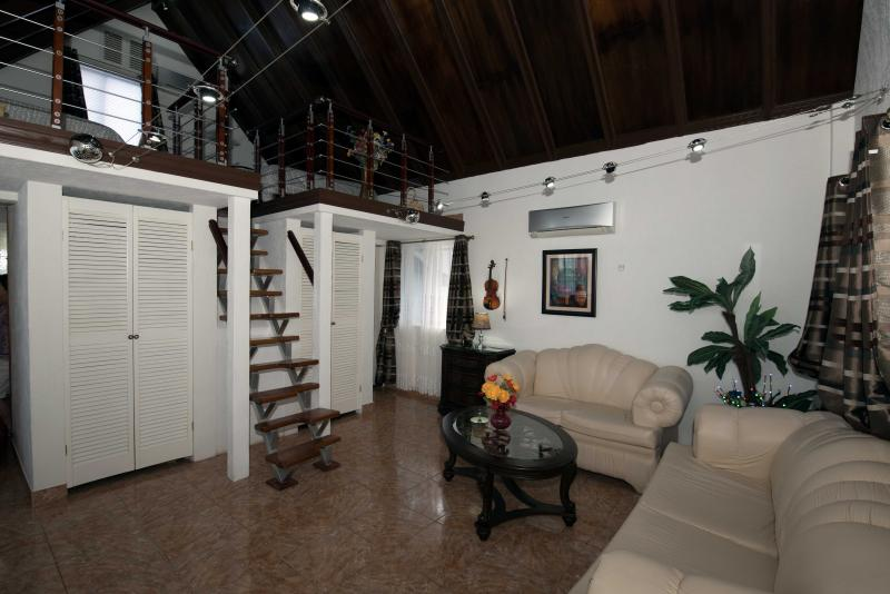 Living room view - Oceanside Luxury Cottage - Negril - Negril - rentals
