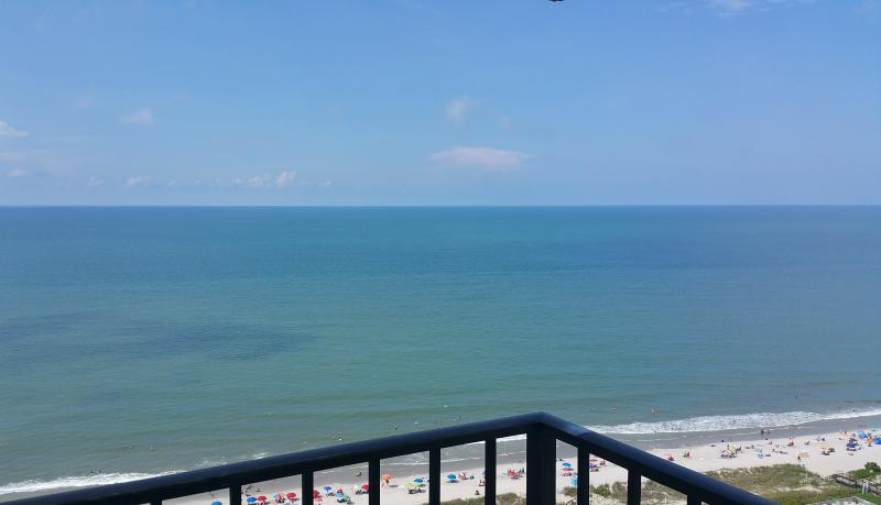 Balcony gives you AMAZING wrap around views - Ocean Condo - CLEAN - 2bd Renovated  - THE VIEW !! - Myrtle Beach - rentals