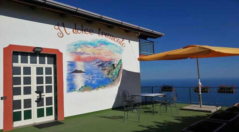 01 Tramonto terrace - TRAMONTO - Furore - Amalfi Coast - Furore - rentals