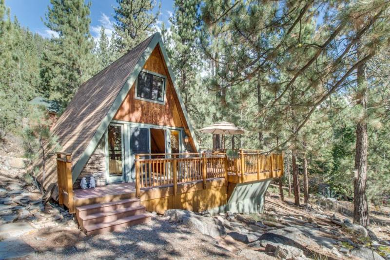 Romantic and cozy cabin near Donner Lake set among the towering pines! - Image 1 - Truckee - rentals