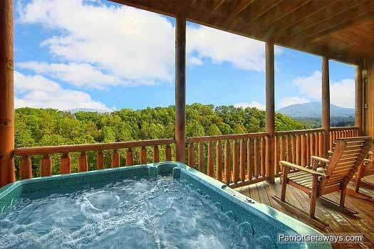 Hot Tub at Majestic Mountain View - MAJESTIC MOUNTAIN VIEW - Sevierville - rentals