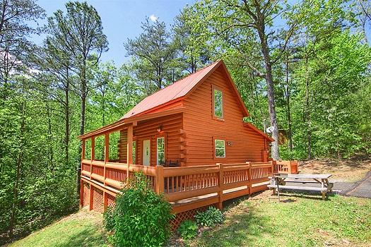 Exterior View of Sunshine Day Dream - SUNSHINE DAY DREAM - Gatlinburg - rentals