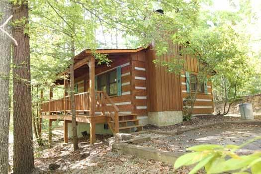 Exterior Rear View at Splendid Isolation - SPLENDID ISOLATION - Pigeon Forge - rentals