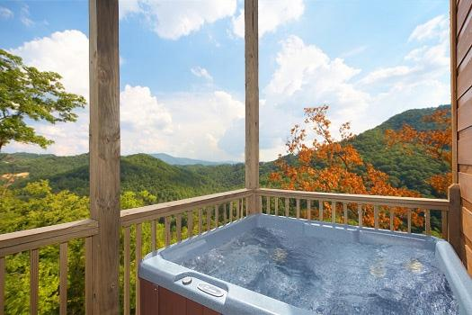 Hot Tub at A Perfect Getaway - A PERFECT GETAWAY - Pigeon Forge - rentals