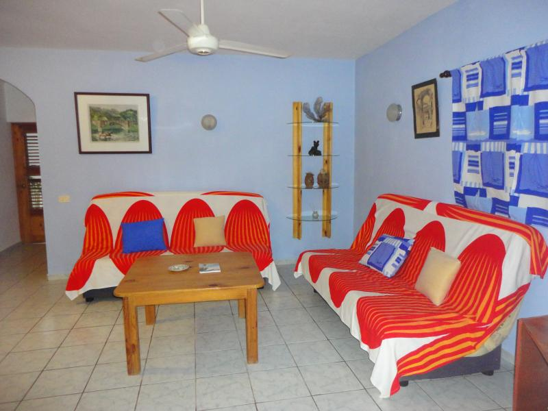 Spacious apartment in tropical garden with pool - Image 1 - Las Terrenas - rentals