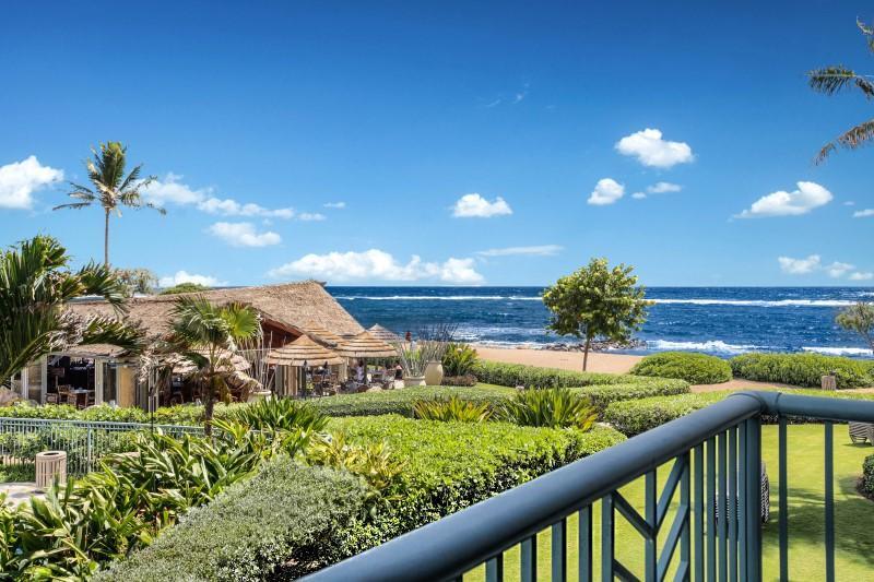H204 Ocean and Beach View from Lanai - Waipouli Beach Resort H204 - Kapaa - rentals