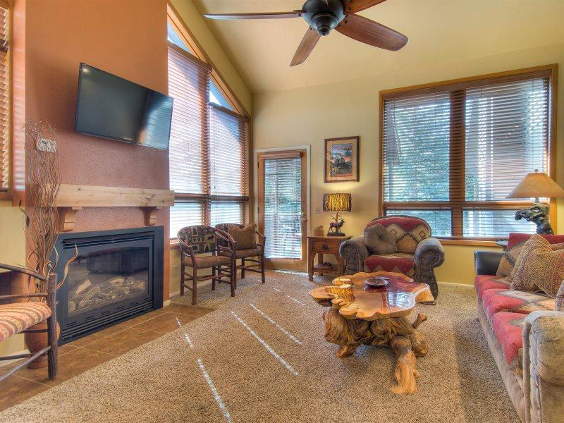 Park City Red Pines Townhome, a Park City Vacation Home at Canyons Resort - Image 1 - Park City - rentals