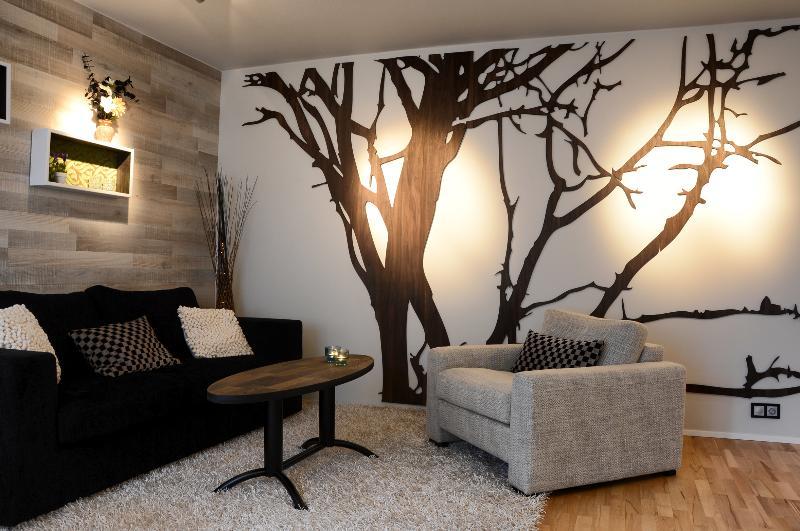 Living room - B14 modern apartment down town v/balcony - Reykjavik - rentals