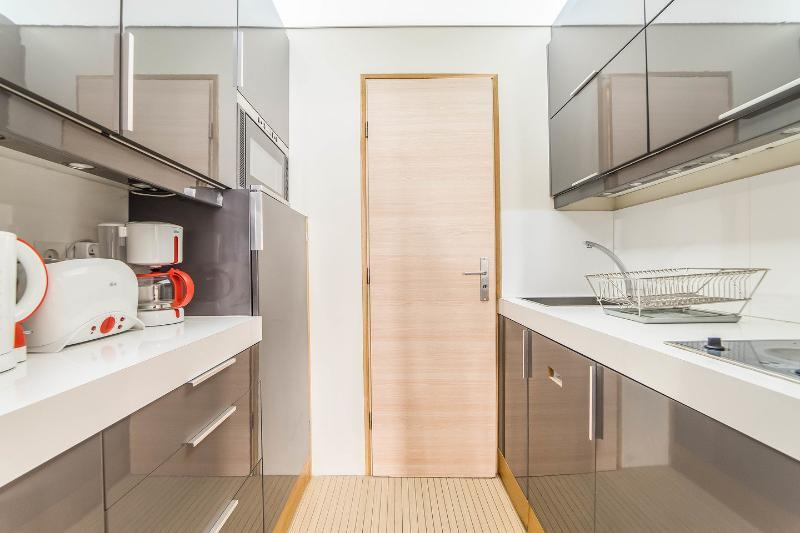 Kitchen - Petit Roch: Amazing and Modern Studio near Louvre - Paris - rentals