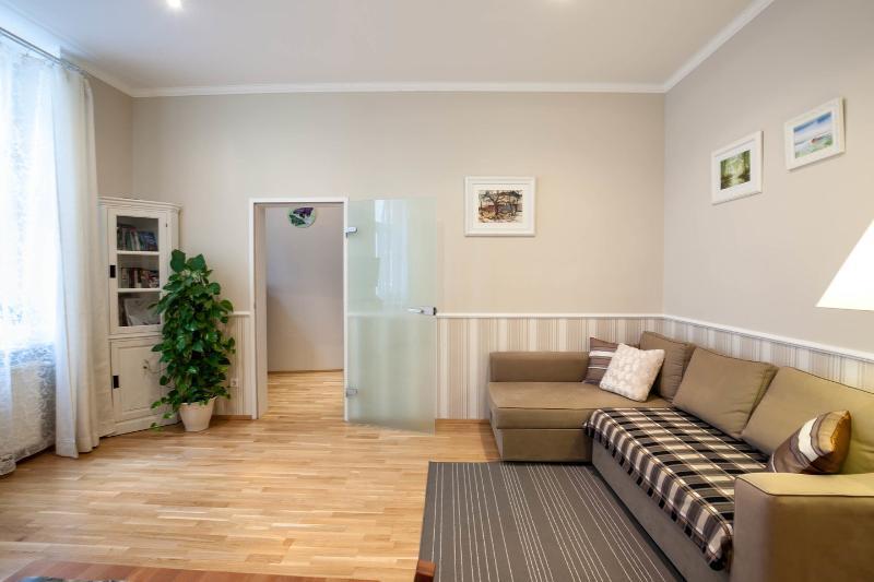 Living Room - Cosy apartment at the corner of Augarten Park - Vienna - rentals