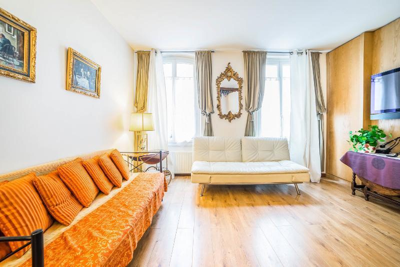Living Room - Montparnasse Apartment - Paris - rentals