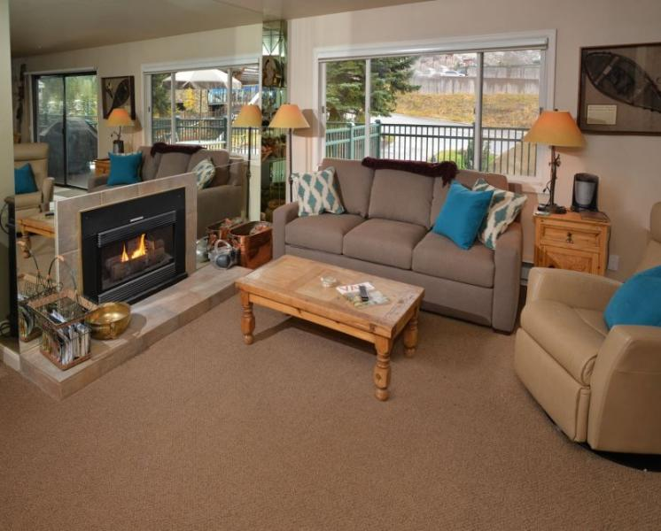 This vacation townhome and pool in Lionshead Village is a short walk to the Gondola. - Image 1 - Vail - rentals