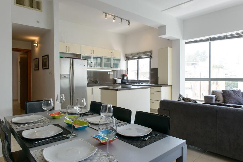 Fabulous 3 Bedroom Duplex Apartment in Tel Aviv - Image 1 - Tel Aviv - rentals