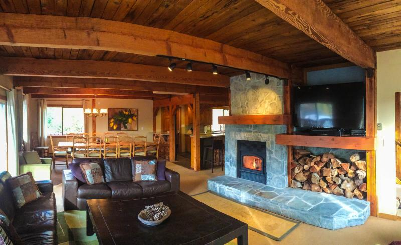 Living Room - Latitude Five Zero - Whistler - rentals