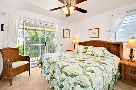 Unit 21 bed - Ocean View 2 Bedroom - Kapaa - rentals