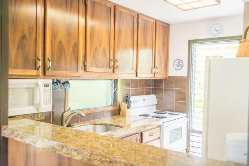 Kitchen - Ocean Front 2 Bedroom - Kapaa - rentals