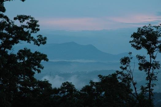 View of the Smoky Mountains at Ridge View - RIDGE VIEW - Pigeon Forge - rentals