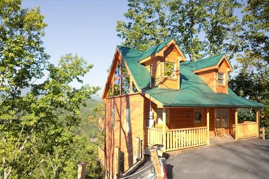 Exterior Front View of Smoky Mountain Mist - SMOKY MOUNTAIN MIST - Gatlinburg - rentals