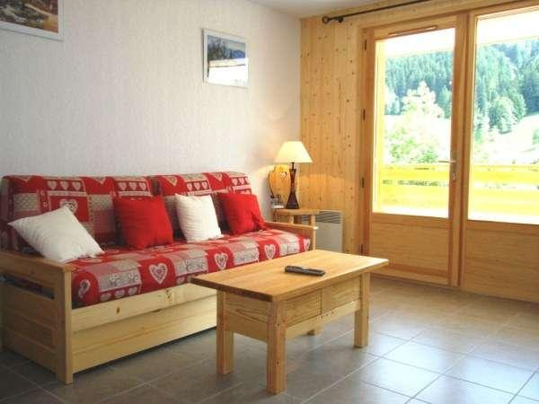 GRANDES ALPES B 2 rooms + sleeping corner 6 persons - Image 1 - Le Grand-Bornand - rentals