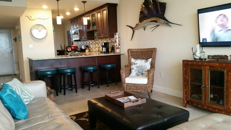 Great accommodations with perfect water views. Flat screens,WII Fi, cozy and classy. - Newly refinished  condo open water views very nice - Islamorada - rentals