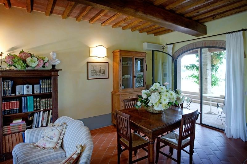One of Four Apartments on Large Tuscan Estate - Certaldo 3 - Image 1 - Lucardo - rentals