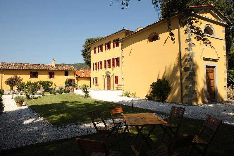 Ancient Summer Villa in Hills Near Spa Town of Montecatini - Villa Vita Agiata - Image 1 - Massa e Cozzile - rentals