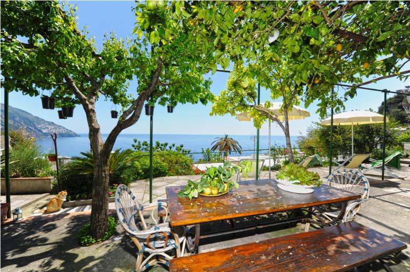Apartment in Positano with Private Garden - Villa Mare - Image 1 - Positano - rentals