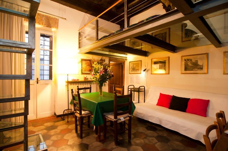 Rome Apartment near Campo dei Fiori - Attico - Image 1 - Roma - rentals