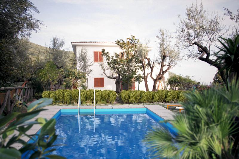 Villa with Pool in a Village near Sorrento - Villa Azzurra - Image 1 - Massa Lubrense - rentals