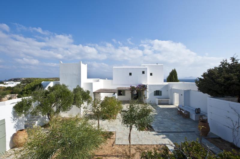 Large Paros Villa near Sandy Beach with Views - Santa Maria Beach - Image 1 - Naoussa - rentals