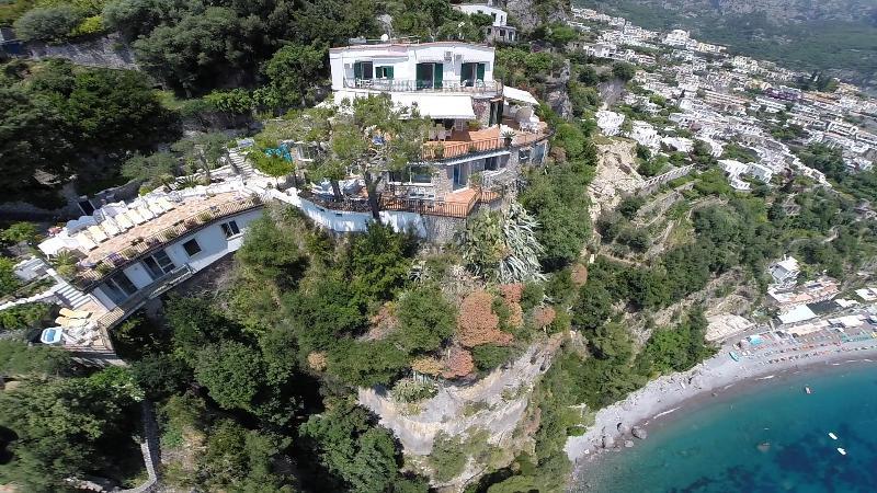 Amalfi Coast Villa Near Positano with Beach Access  - Villa Sole - Image 1 - Positano - rentals