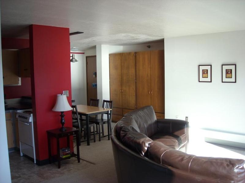 Open living, dining, kitchen, area - DT Franklin 7 - Sitka - rentals